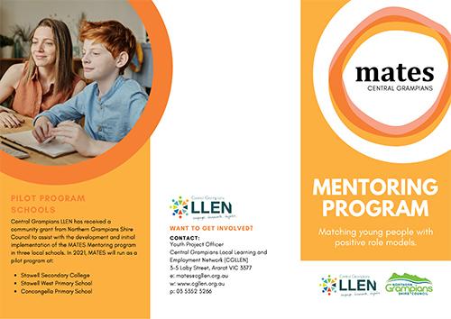 Image of Mates Mentoring program