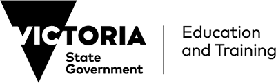 Department of Education and Training Victoria logo