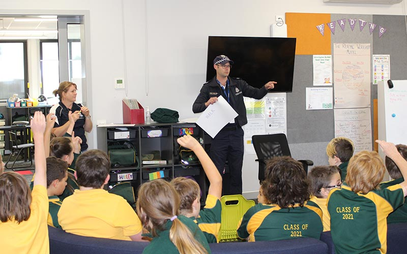 Young animators paint road safety picture in Ararat